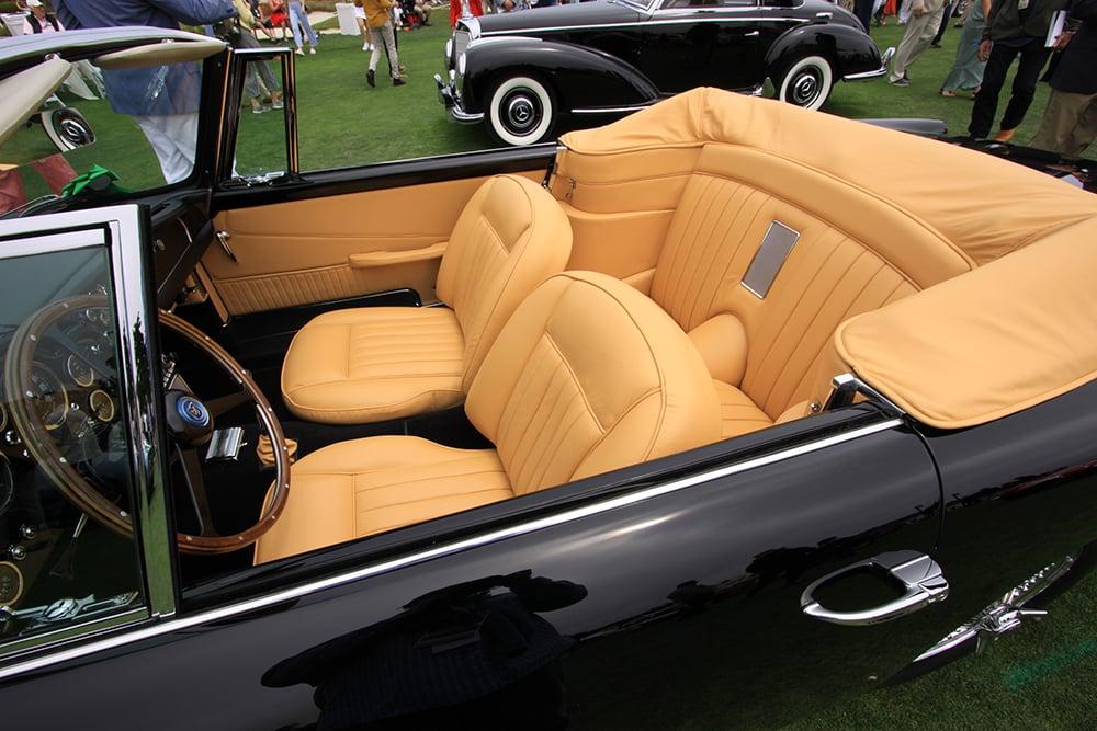 Aston interior