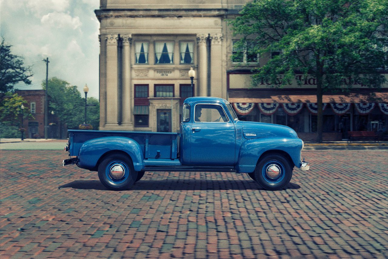 1947 1955 Advance Design Chevy truck generation 1