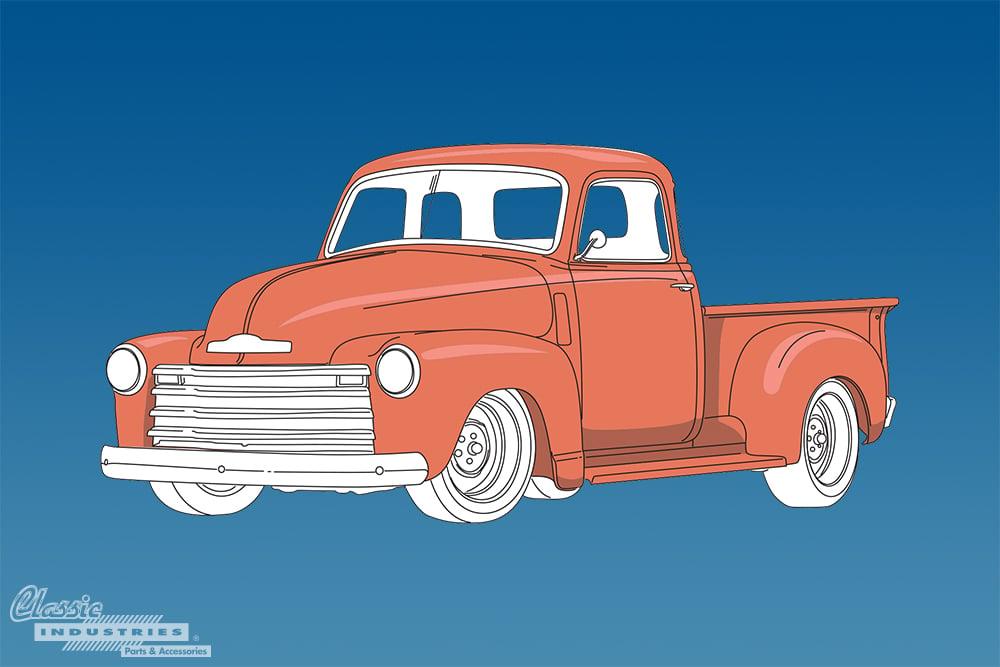 1947 1955 Advance Design Chevy truck generation 2