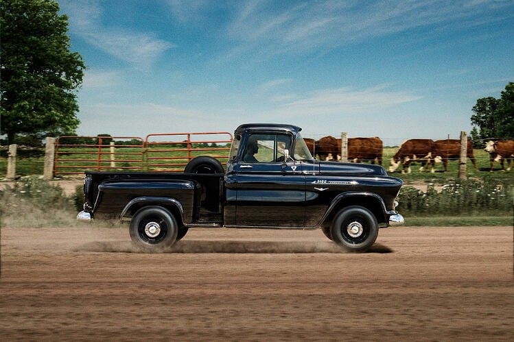 1955 1959 Task Force Chevy truck generation 1