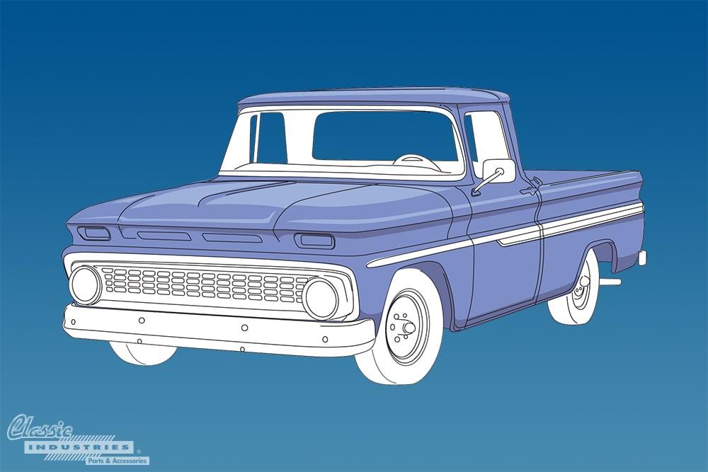 1960 1966 C K Series Chevy truck generation 2