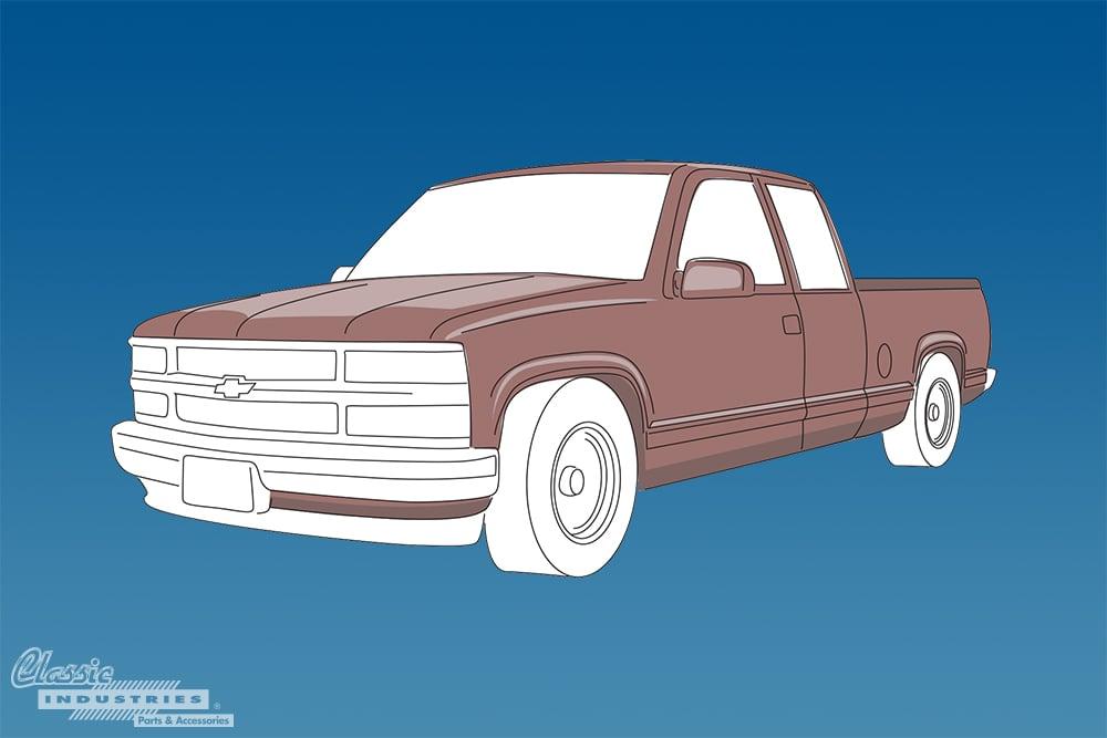 1988 1998 C K Series Chevy truck generation 2
