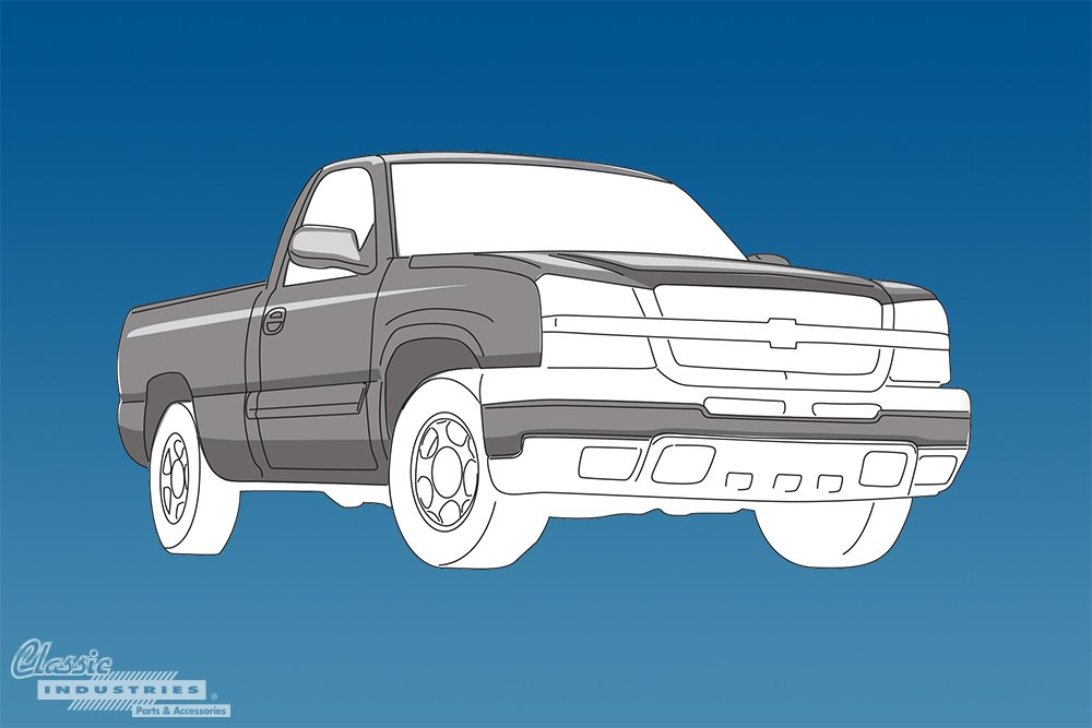 1999 2007 Silverado Sierra Chevy truck generation 2