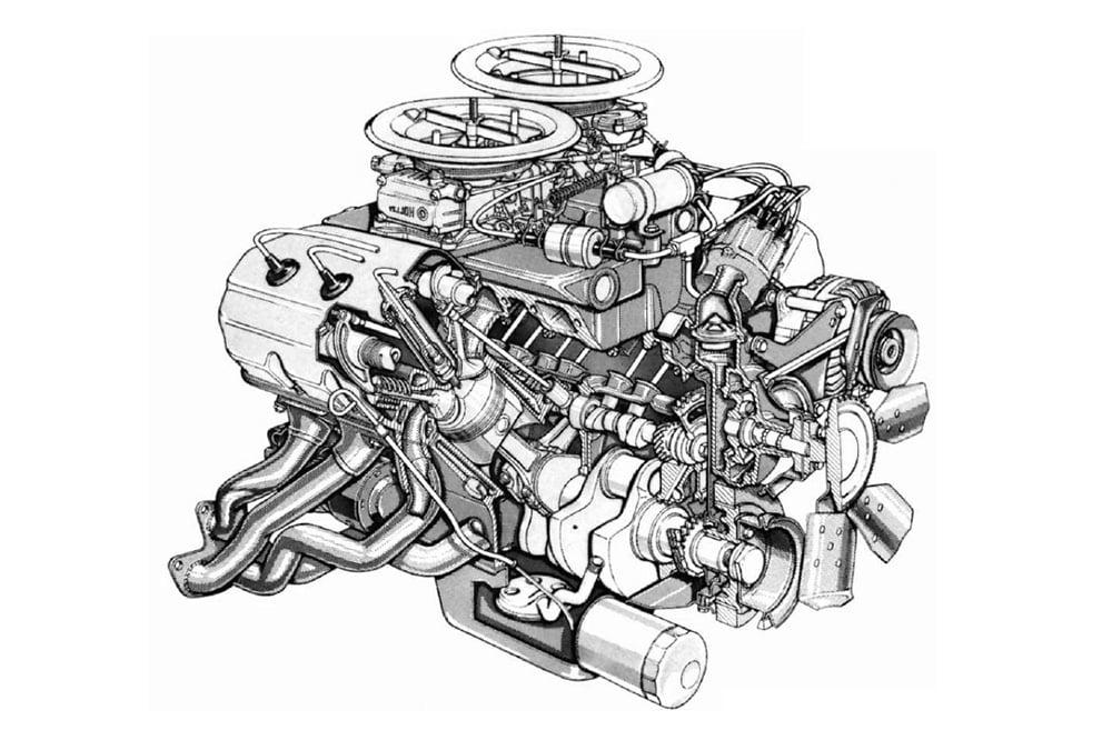 Classic-Mopar-engines-426-hemi