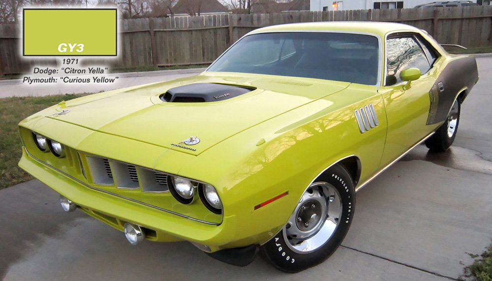 Mopar_paint_GY3_yellow