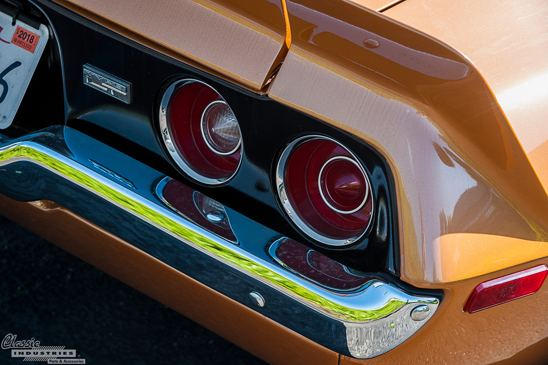 Gold 2nd Gen Taillight