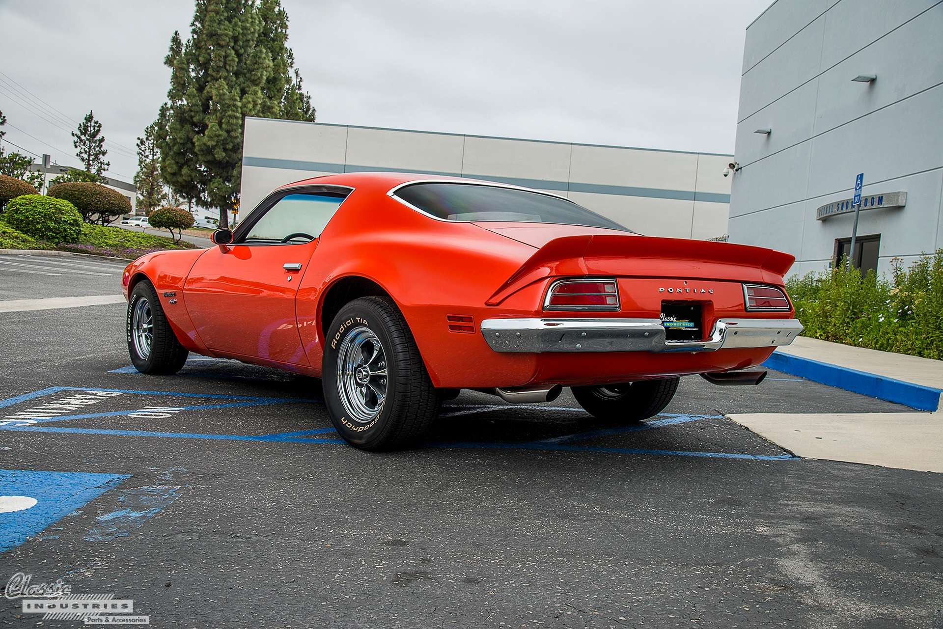 Orange Firebird Rear
