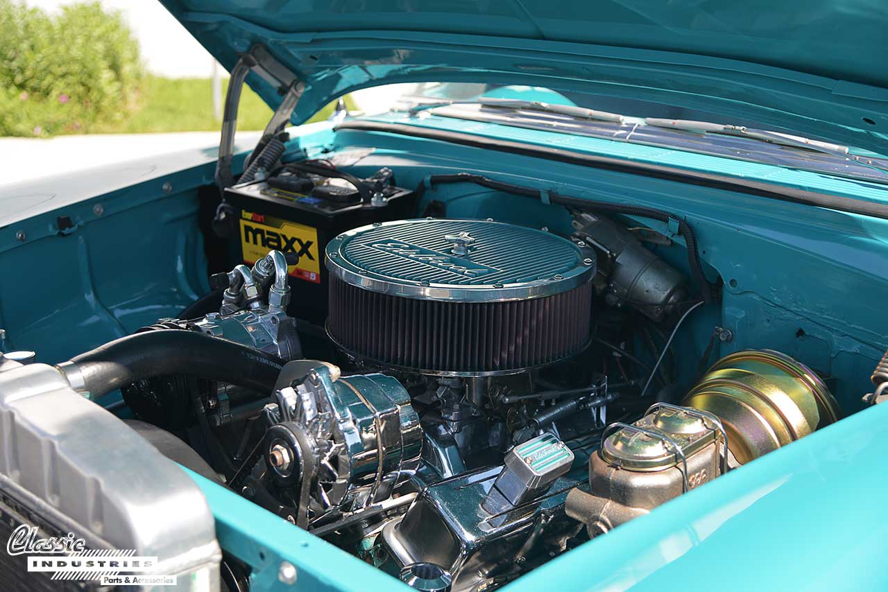 55-Chevy-Engine