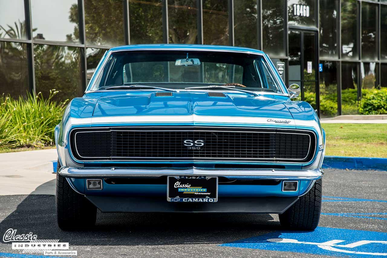 1967 Camaro Ss Rs Marina Blue Beauty