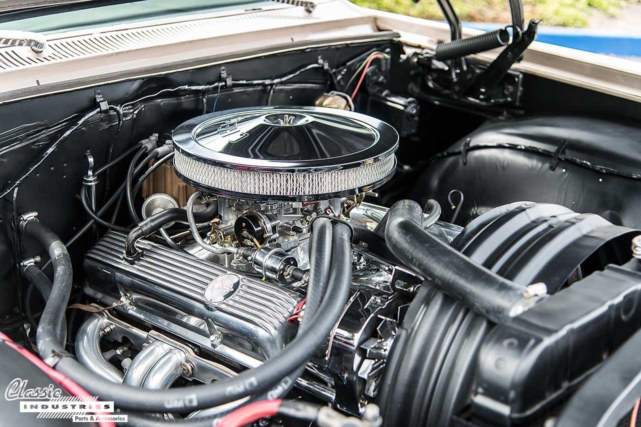 63-Impala-Engine