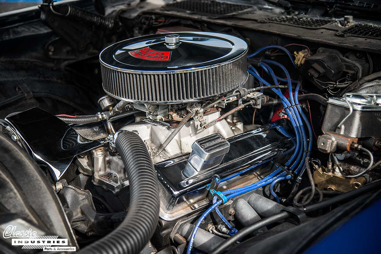 73-Camaro-Engine
