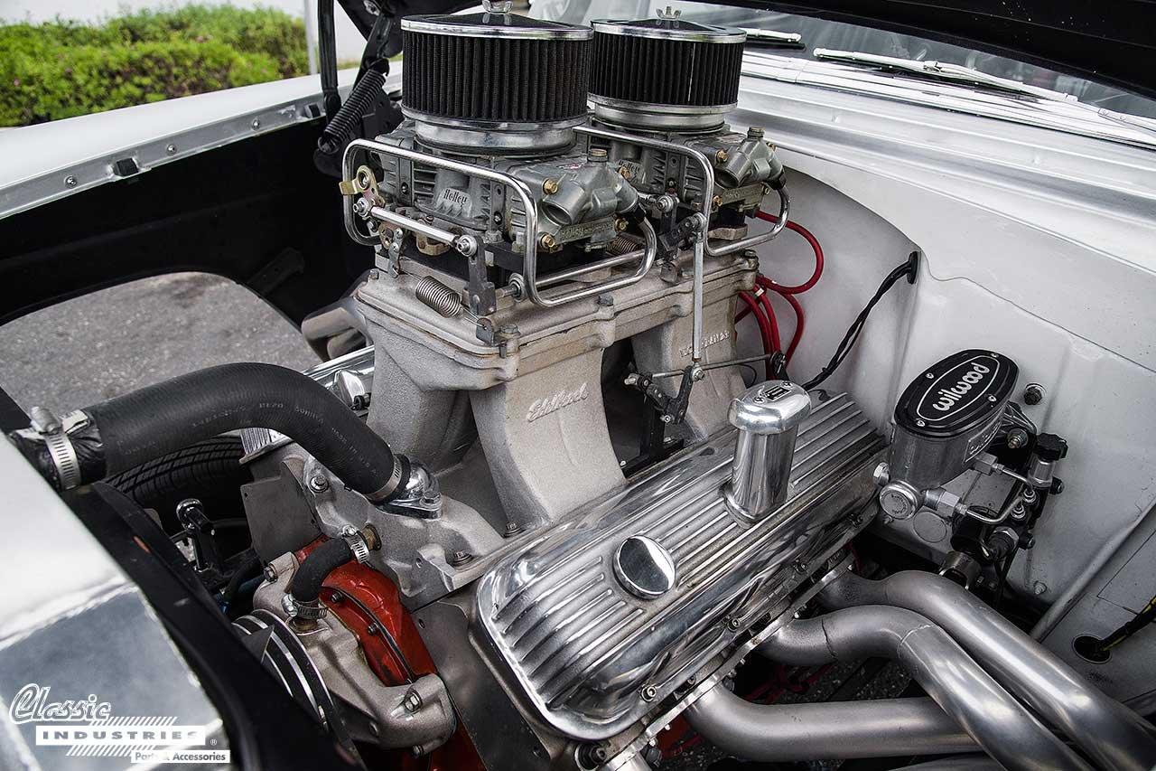 1955_Chevy_gasser_Engine