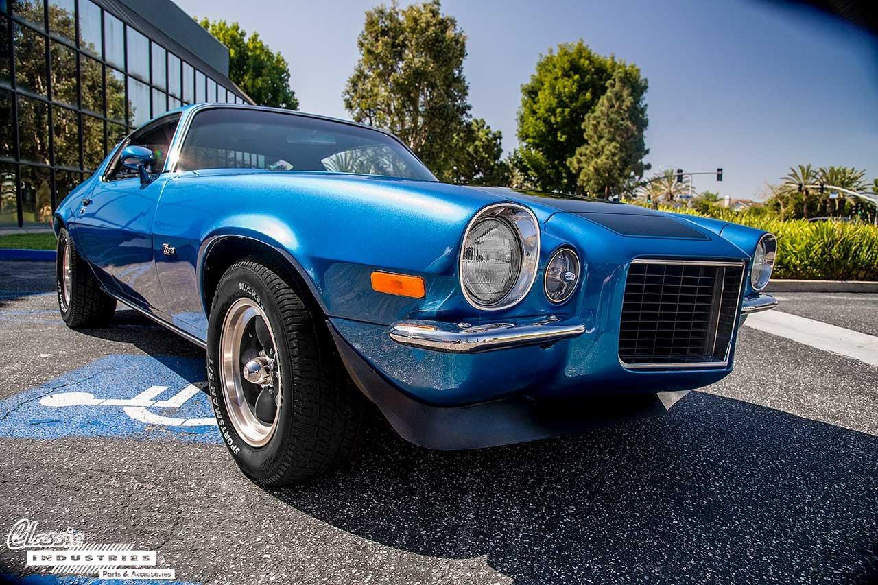 70-Camaro-Blue-BlkStripes_Fisheye