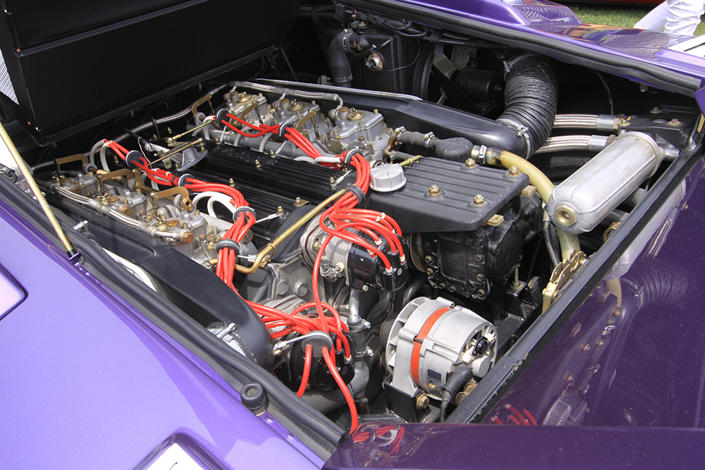 Countach engine