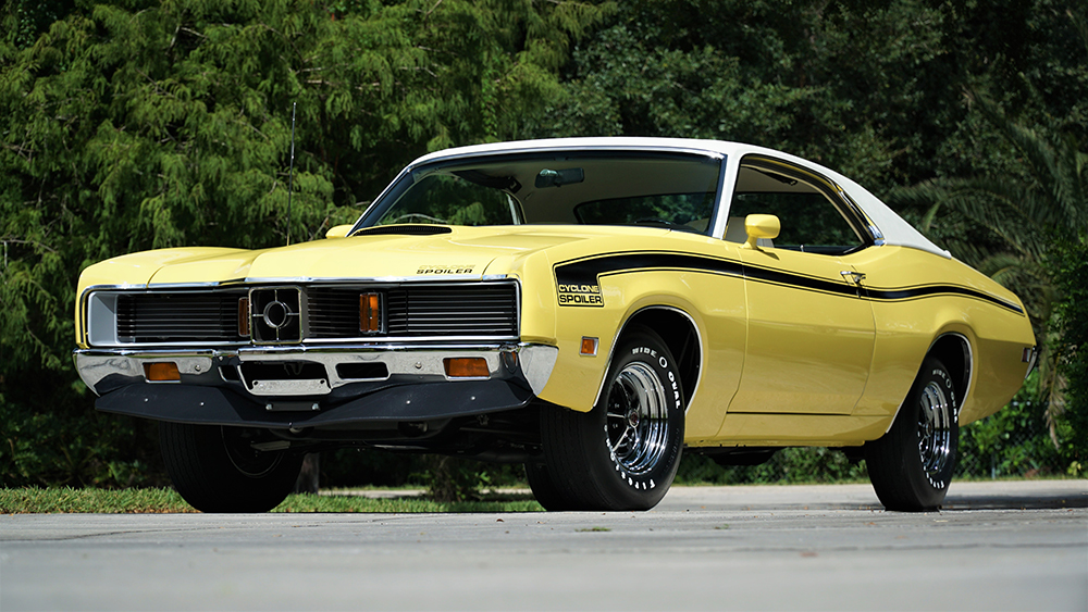 FL20_Mecum Kissimmee 2020_1971 Mercury Cyclone Spoiler_F132-1