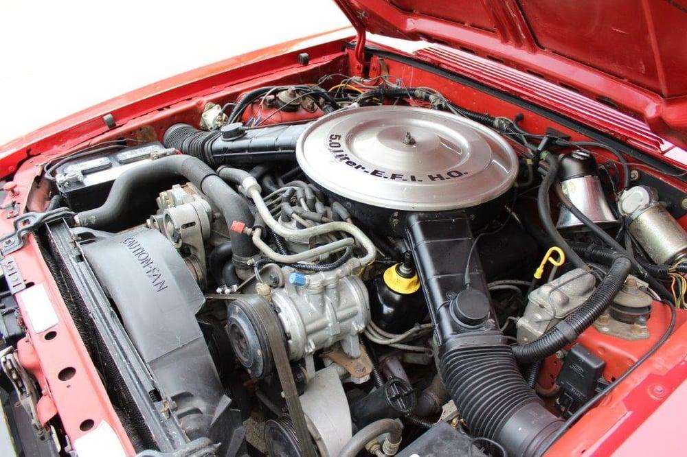 FL21_Mecum Kissimmee 2021_1985 Mercury Capri ASC McLaren Convertible_G38_Engine-1