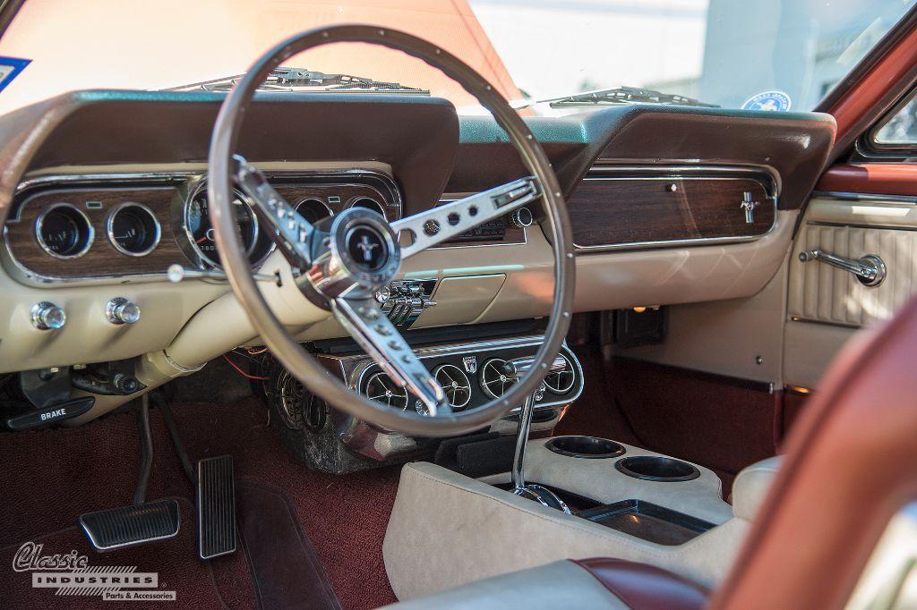 1966 Mustang convertible  Interior