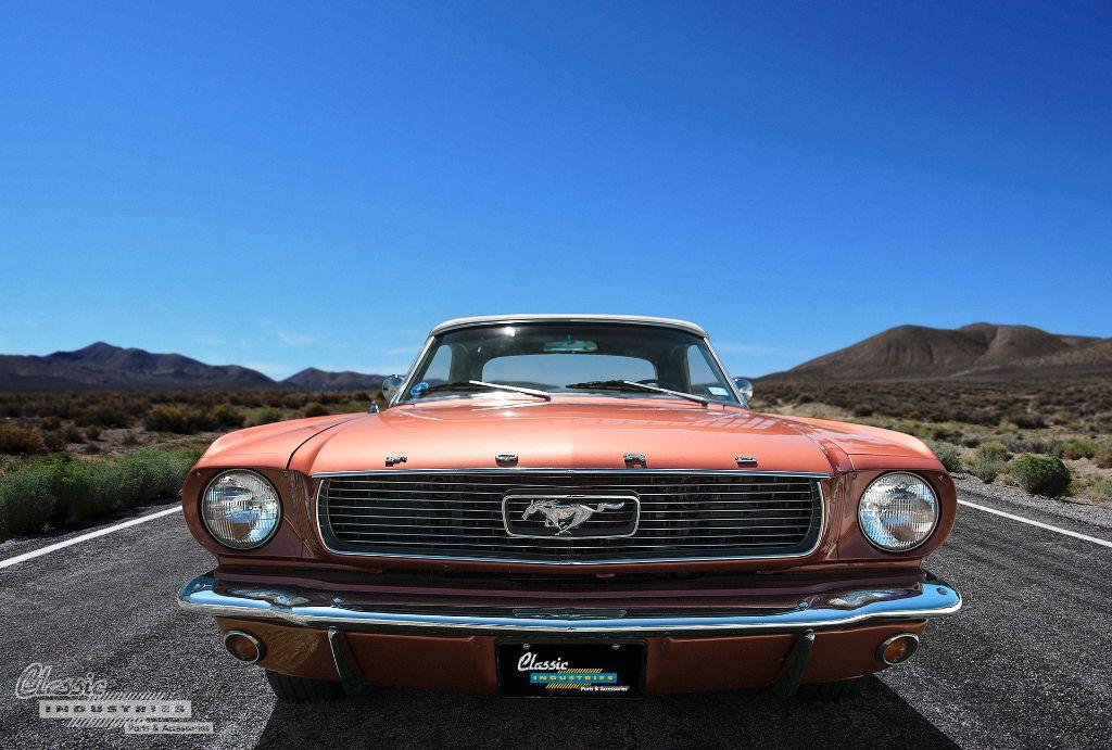 1966 Mustang convertible front