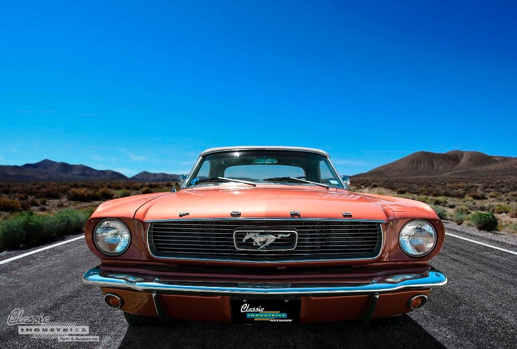 1966 Mustang convertible front