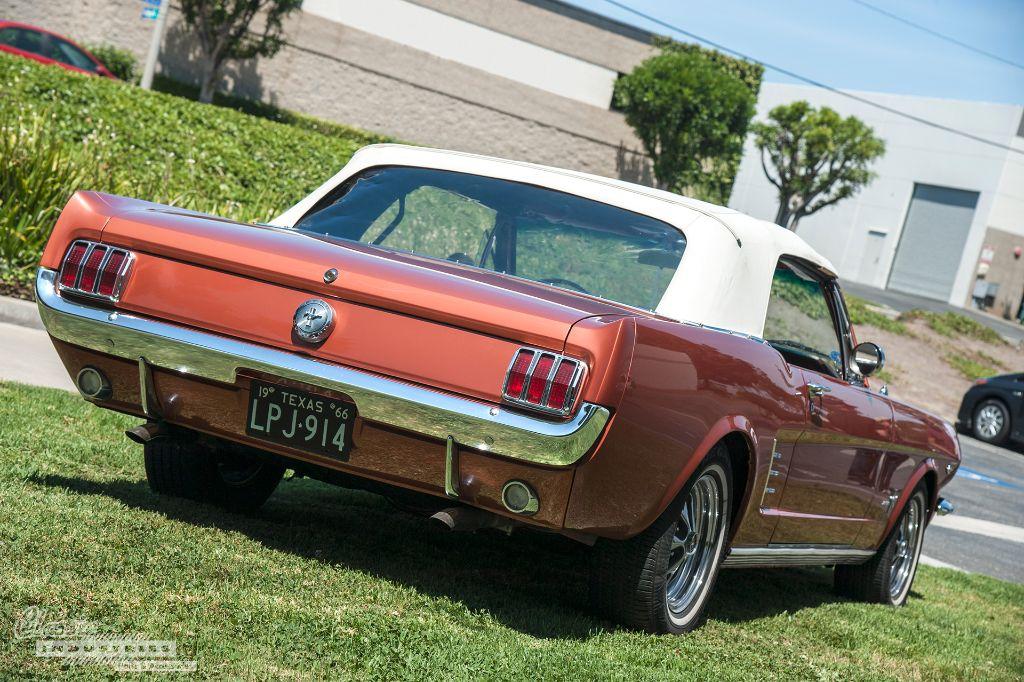 1966 Mustang convertible rear