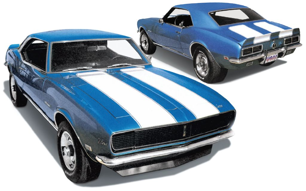 1968 Camaro front and rear