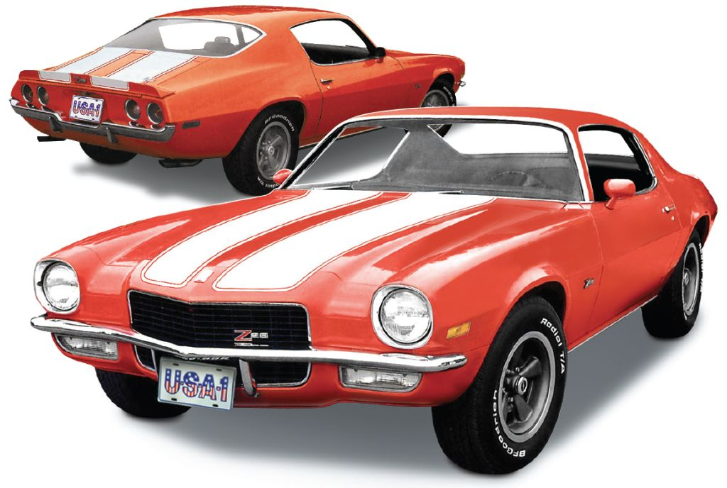 1971 Camaro front and rear