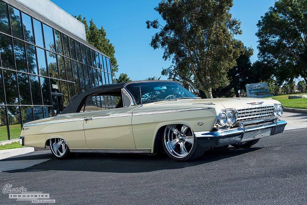 62 Chevy Impala front