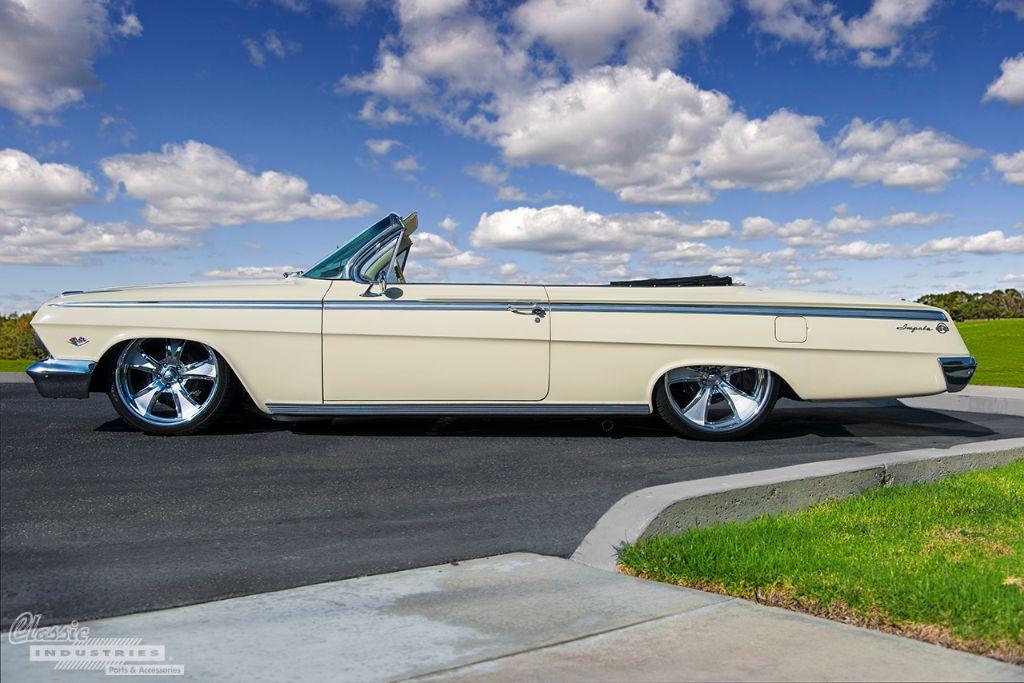 62 Chevy Impala rear
