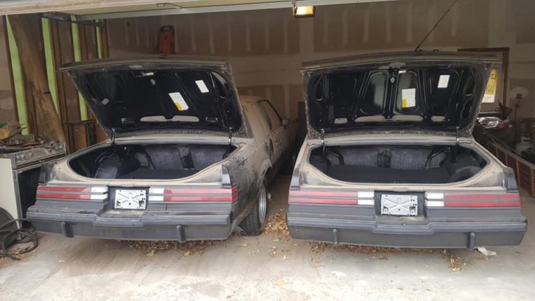 Two 1987 Regal Grand Nationals Barn Find Rear