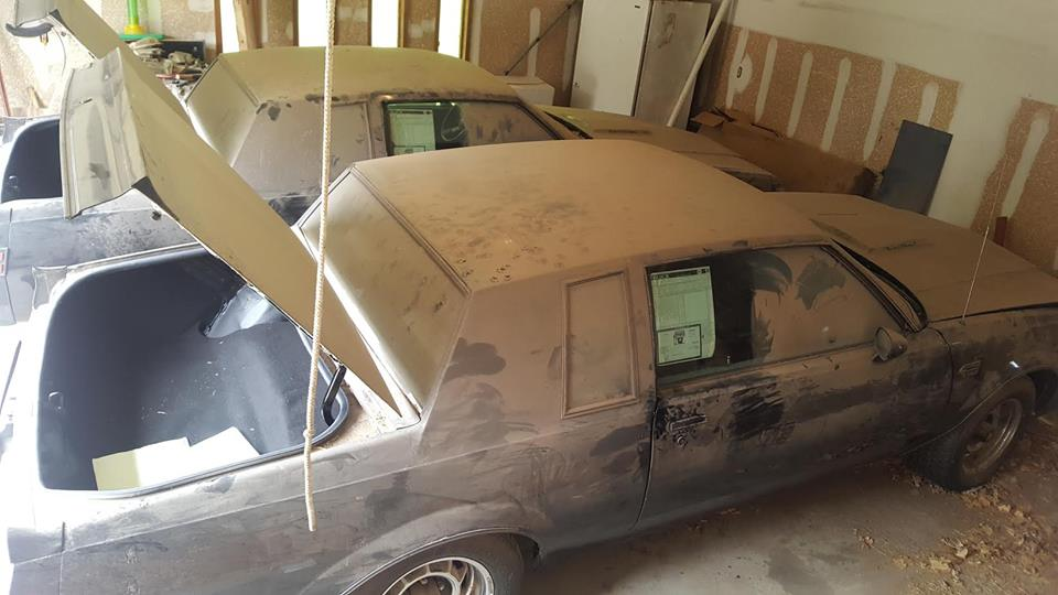 Two 1987 Regal Grand Nationals Barn Find - Courtesy of GM EFI
