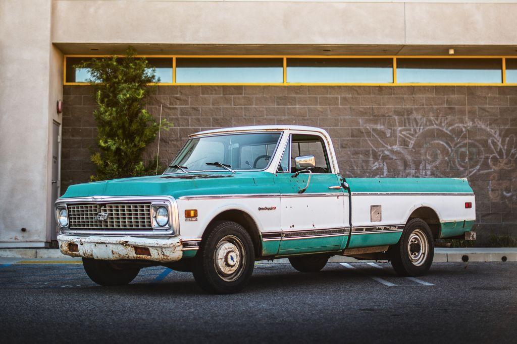 1971 Chevy C20 pickup
