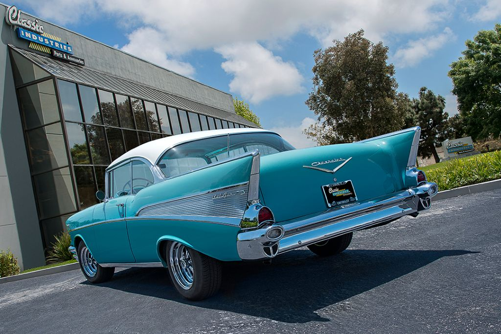 Jerry's 1957 Chevy Bel Air