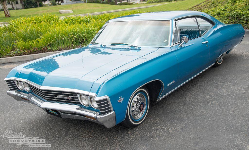 Blue 67 Impala SS 01