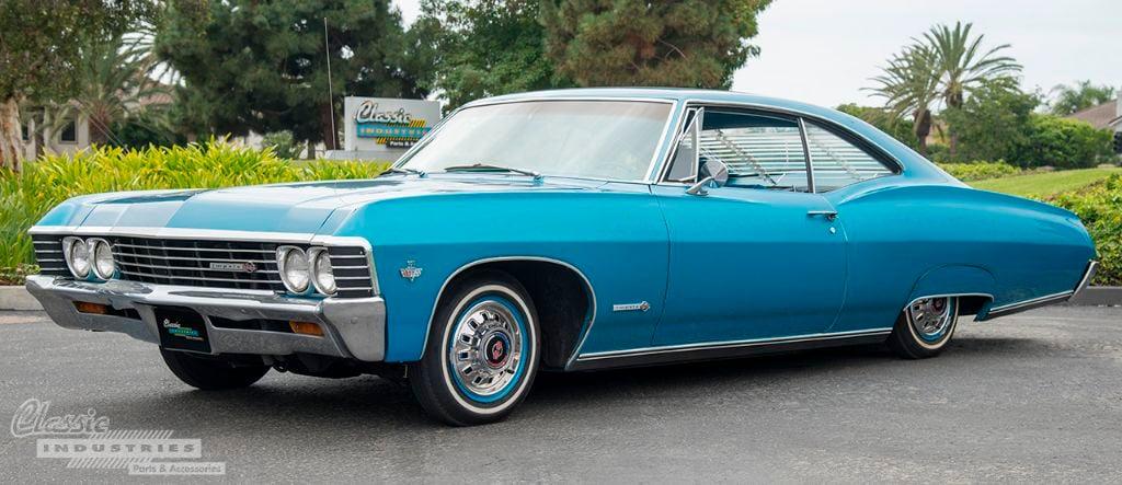 Blue 67 Impala SS 02