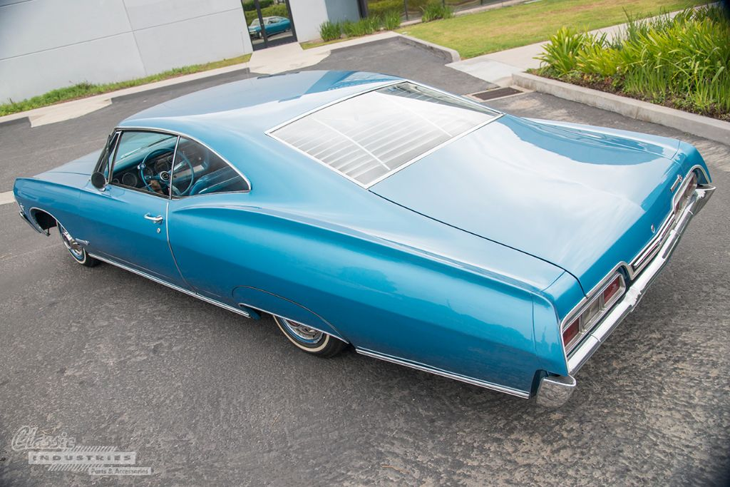 Blue 67 Impala SS 03