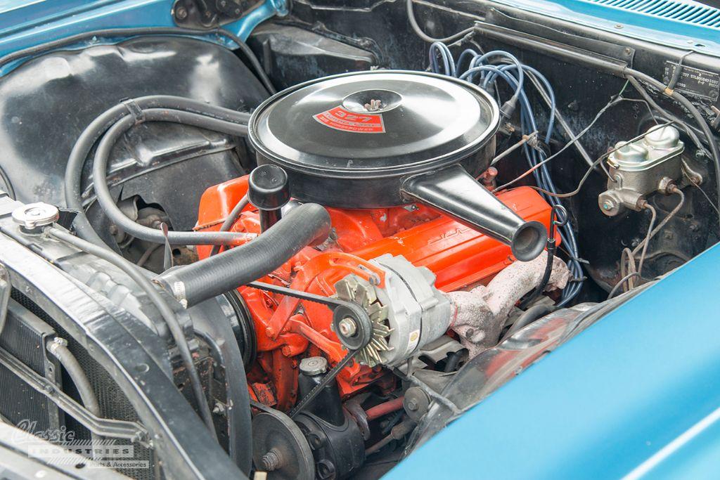 Blue 67 Impala SS 06
