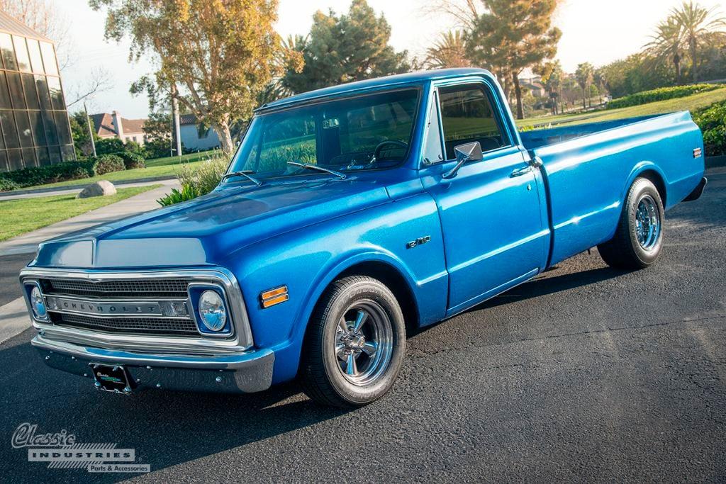Restored Work Truck Blue 69 C10