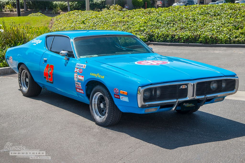 Blue 71 Charger Richard Petty