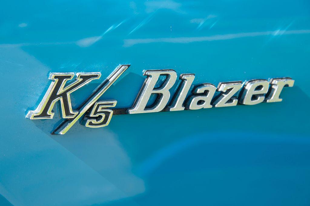 Blue '71 K5 Blazer 4