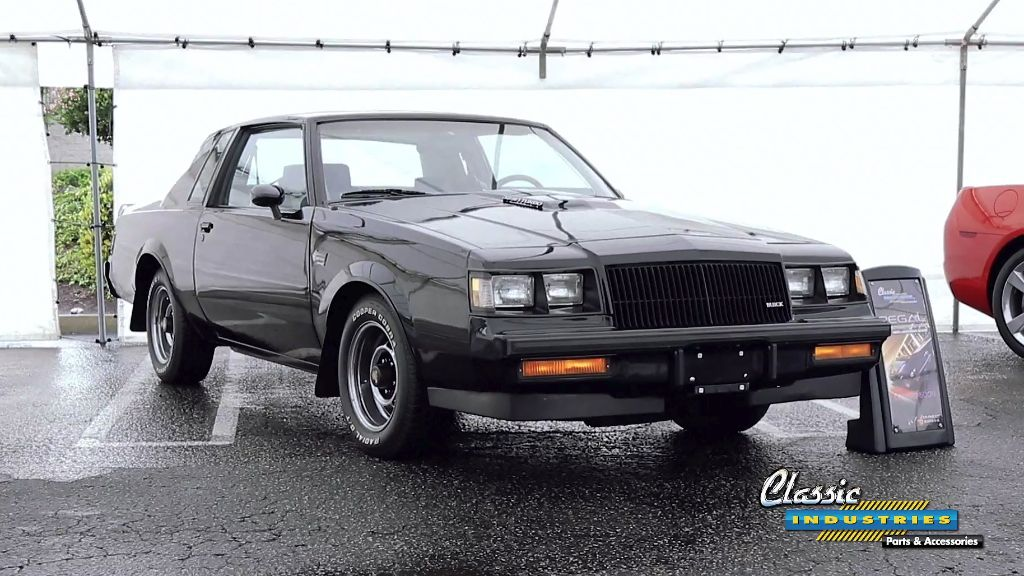 Buick Regal Grand National catalog video 1