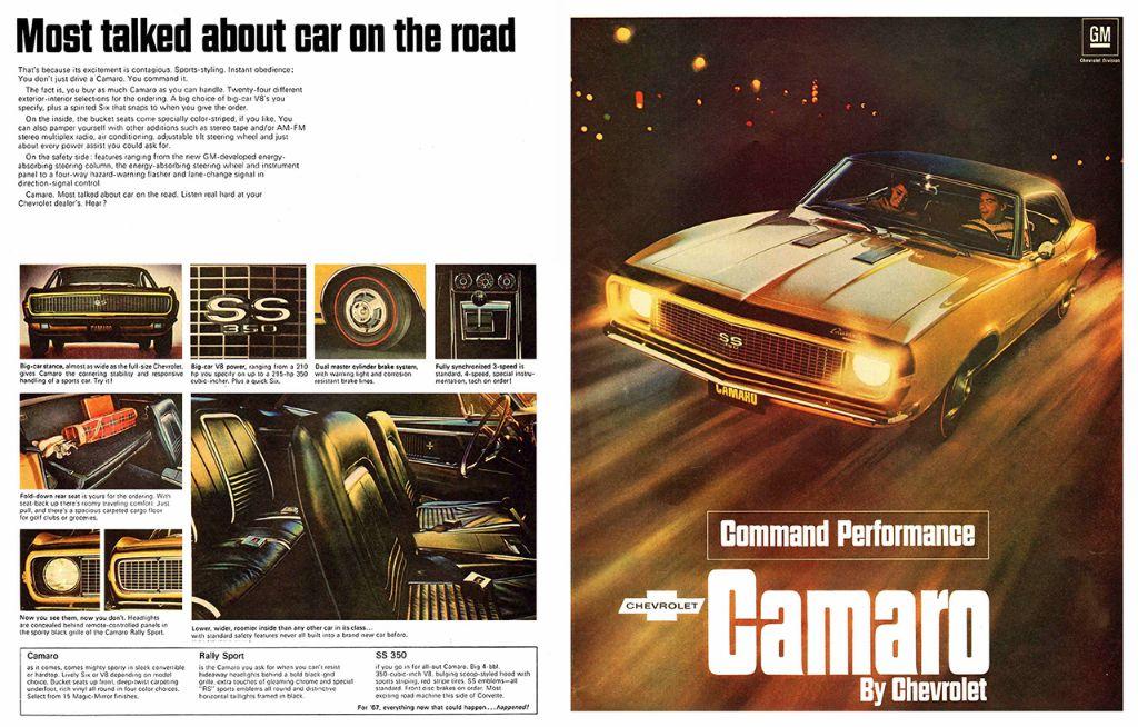 Camaro50th 1967 ad