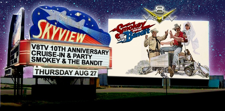 V8TV 10th Anniversary Party