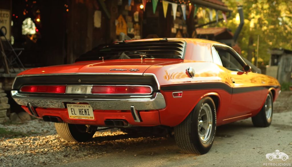 El Hemi 1970 Challenger Restoration 2