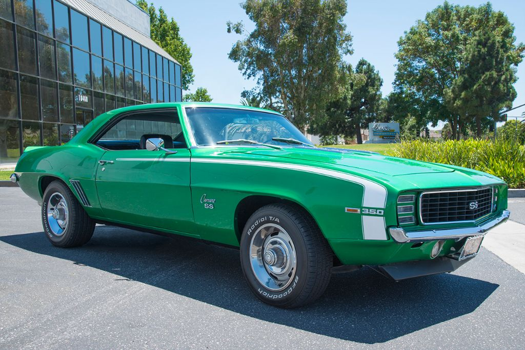'69 Camaro RS/SS rally green
