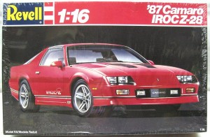 87 Camaro IROC Z model