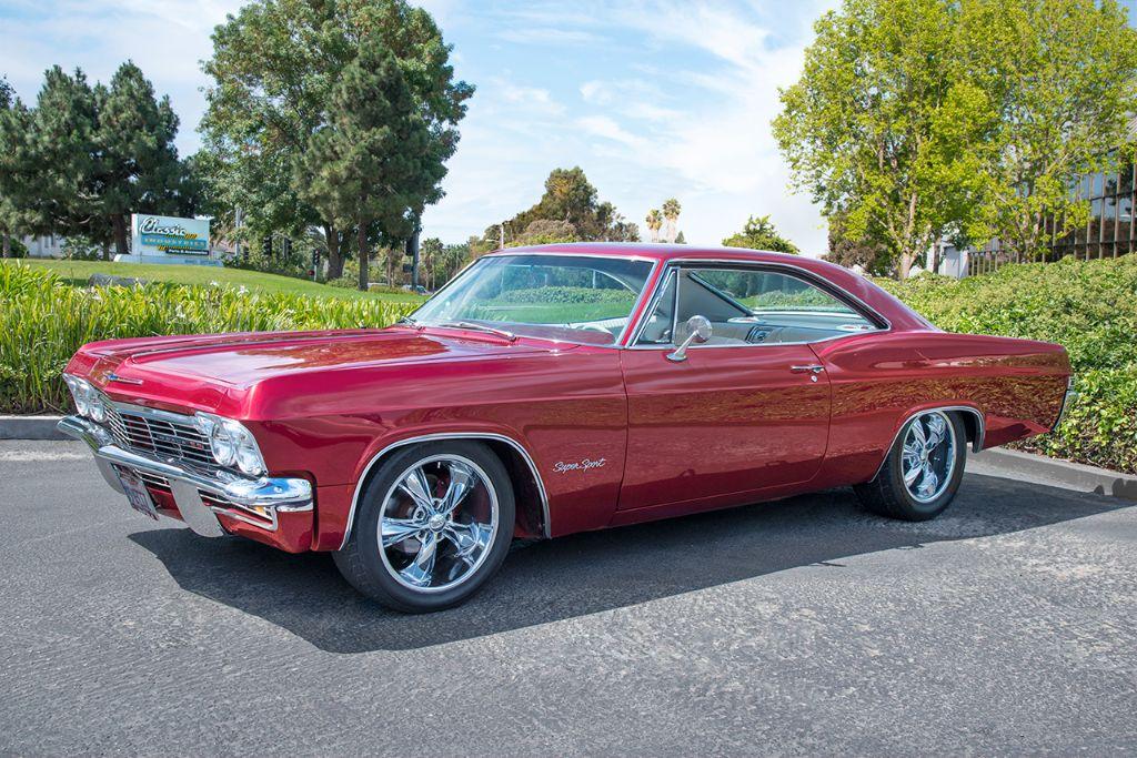 Maroon '65 Impala SS 1
