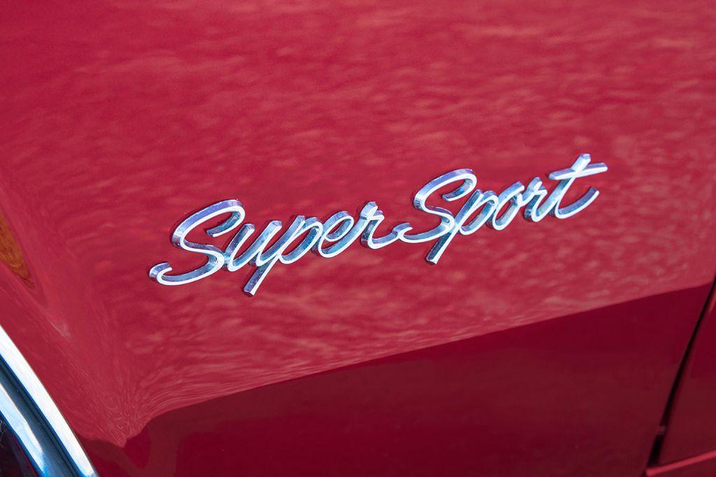 Maroon '65 Impala SS 5