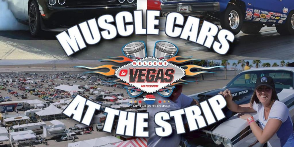 Muscle Cars at the Strip 2017 3