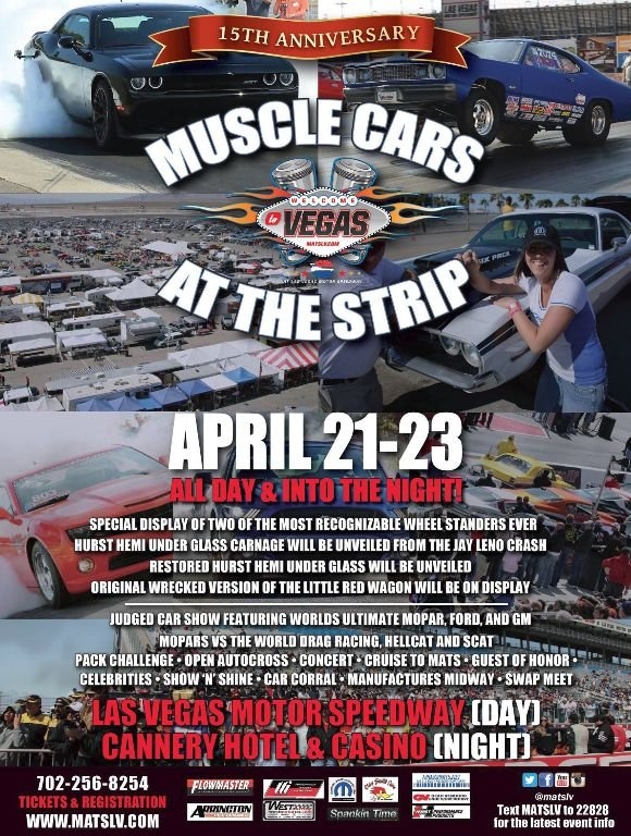 Muscle Cars at the Strip 2017 5