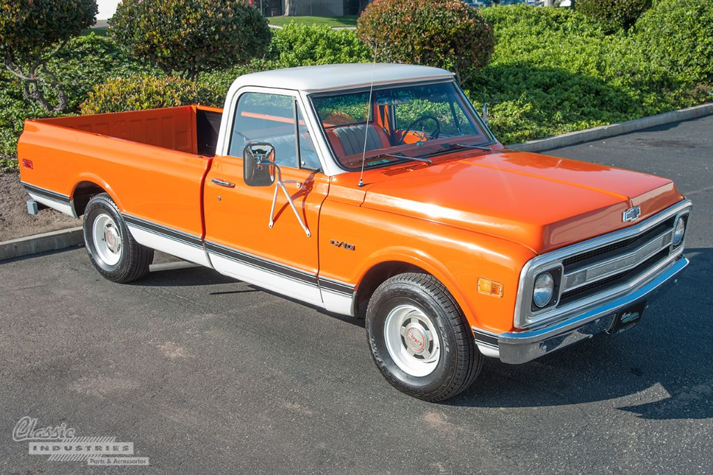 1969 C10 Pickup Creamsicle Chevy